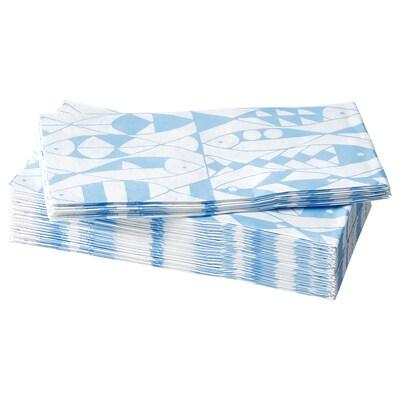 SOMMARDRÖM Serviettes en papier, 38x38 cm