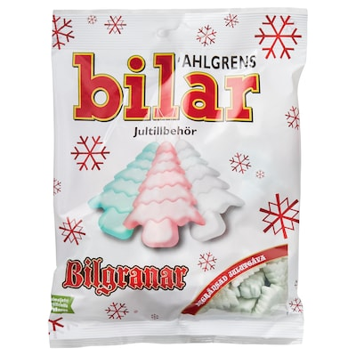 AHLGRENS BILAR Christmas tree sweets, 140 g