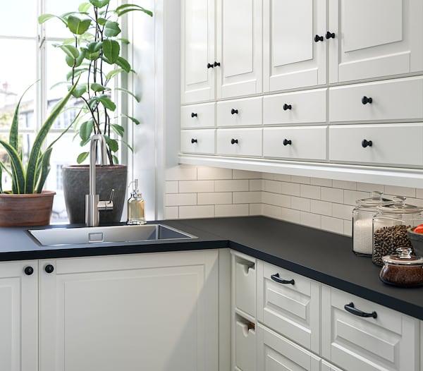 MITTLED Ilum LED p/bancada cozinha c/sensor, intensidade regulável branco, 40 cm