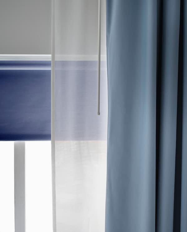 BENGTA 1 Gardinenschal (verdunk.), blau, 210x300 cm