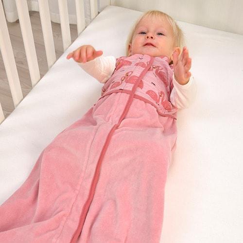 ИКЕА RÖRANDE, Спальный мешок, 704.848.53, фламинго, розовый, 84 см