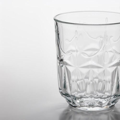 ИКЕА SÄLLSKAPLIG, Стекло, 404.729.03, прозрачное стекло, узор, 27 сл