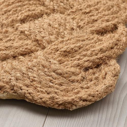 ИКЕА STAVREBY, Внутренний коврик, 104.803.58, ручная работа, плетение натуральное, 40x60 см