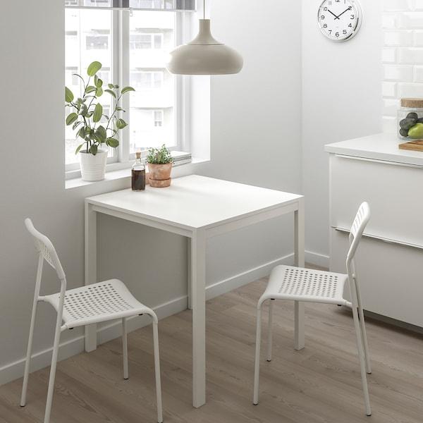 ADDE Krzesło, szary, biały, Kupuj dzisiaj IKEA