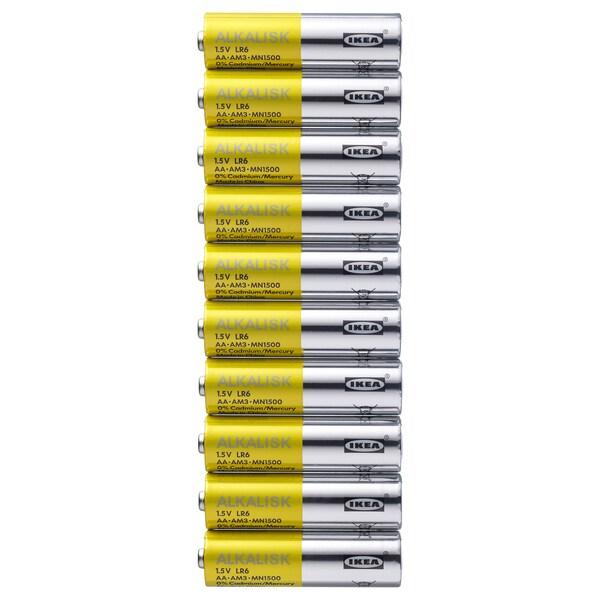 ALKALISK Bateria alkaliczna, LR6 AA 1.5V