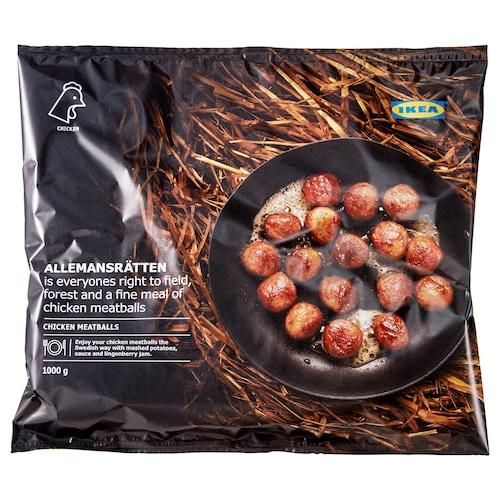 ALLEMANSRÄTTEN klopsiki drobiowe, mrożone 1000 g