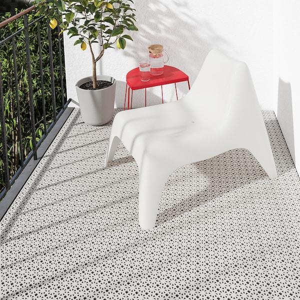 ALTAPPEN płyta podłogowa, ogrodowa jasnoszary 0.81 m² 30 cm 30 cm 0.6 cm 0.09 m² 9 szt.