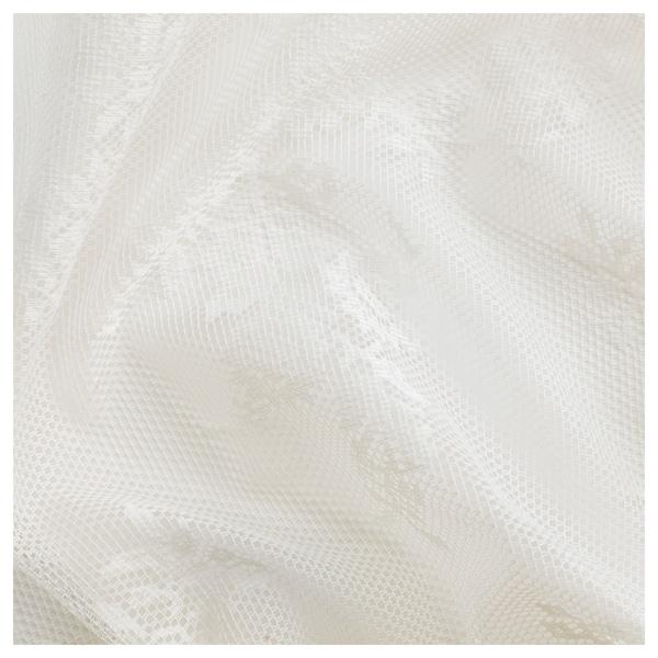 ALVINE SPETS Firanki, 1 para, kremowy, 145x300 cm