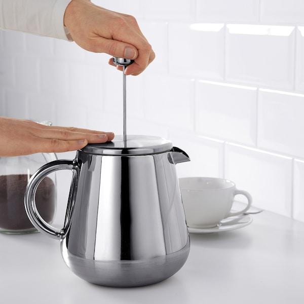 ANRIK zaparzacz do kawy/herbaty stal nierdz 18.5 cm 1.2 l