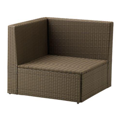 IKEA ARHOLMA Sekcija stūrim - 76x76x66