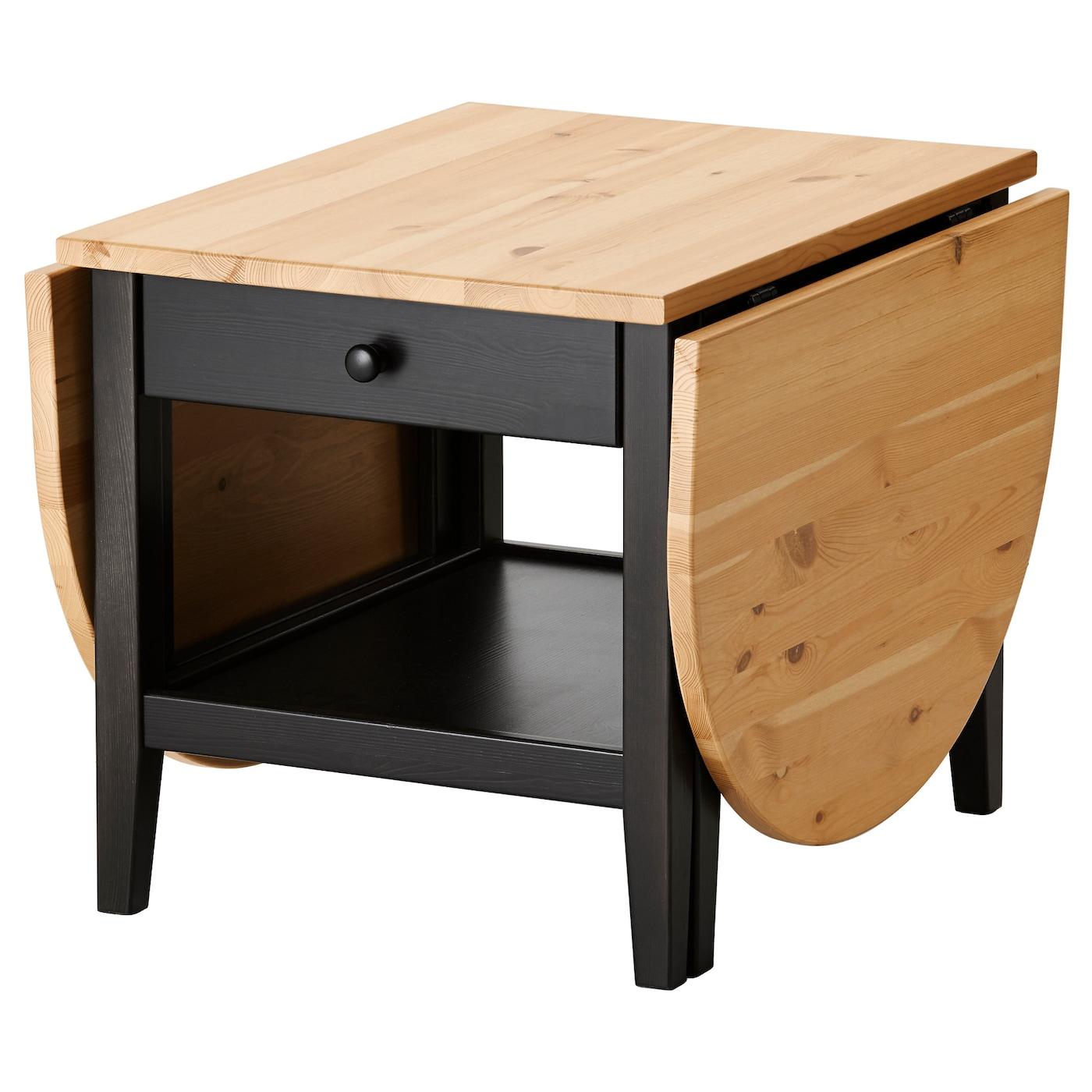 IKEA ARKELSTORP czarny stolik, 65x140x52 cm
