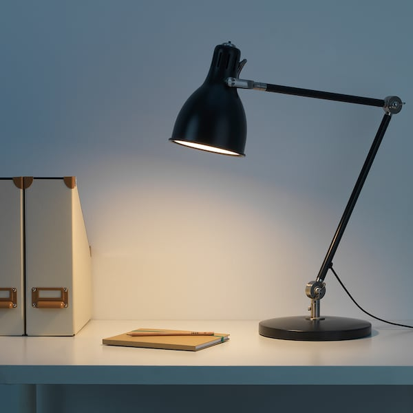 ARÖD lampa biurkowa antracyt 13 Wat 53 cm 23 cm 15 cm 1.5 m