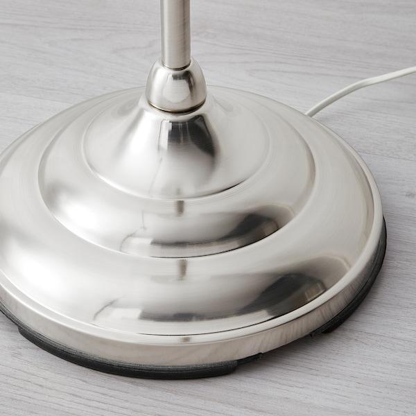 ÅRSTID Lampa podłogowa, niklowano/biały