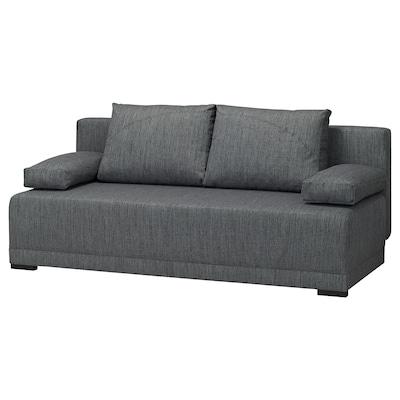 ARVIKEN Rozkładana sofa 3-osobowa, szary