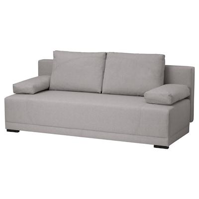 ARVIKEN Sofa trzyosobowa rozkładana, beżowy