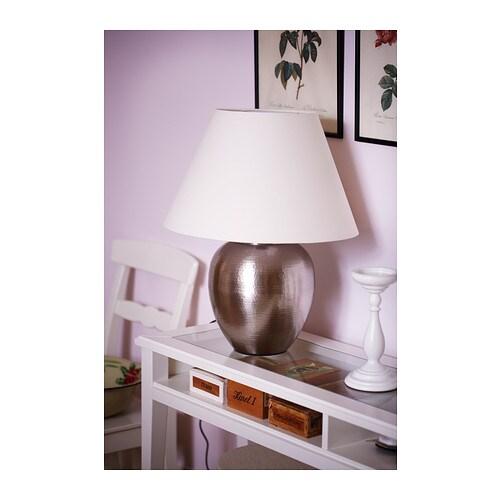 ÅSELE Podstawa lampy stołowej IKEA Światło można przyciemnić, dzięki czemu możesz wybrać odpowiednie oświetlenie na każdą okazję.