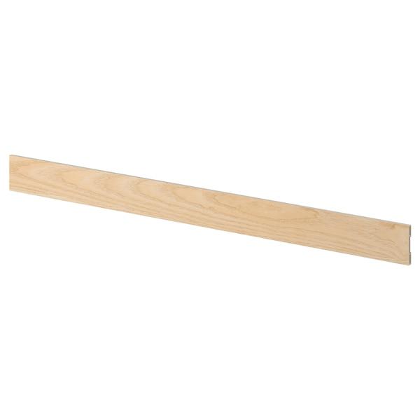 ASKERSUND Cokół, wzór jasny jesion, 220x8 cm