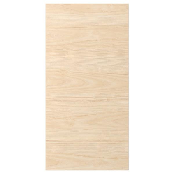 ASKERSUND Drzwi, wzór jasny jesion, 40x80 cm