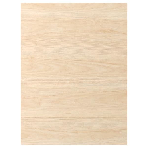 ASKERSUND Drzwi, wzór jasny jesion, 60x80 cm