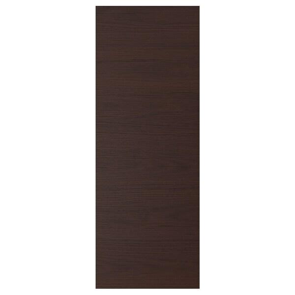 ASKERSUND Panel maskujący, ciemnobrązowy imitacja jesionu, 39x106 cm