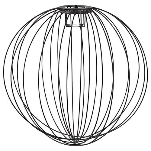 AVRUSTA klosz lampy wiszącej czarny 55 cm
