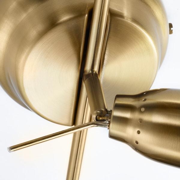 BAROMETER Lampa sufitowa, 5 reflektorów, kolor mosiądzu