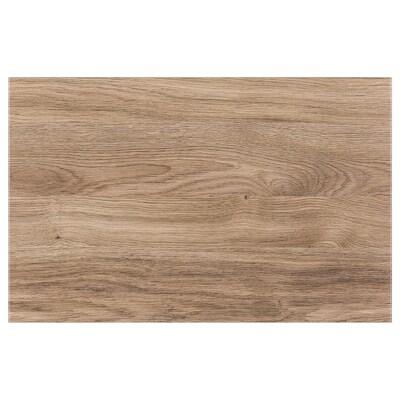 BASTENA Drzwi/front szuflady, średniobrązowy imit. dębu, 60x38 cm