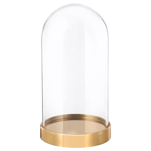BEGÅVNING Kopuła szklana z bazą, 19 cm