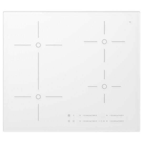 BEJUBLAD płyta induk., łączone pola grzew. biały 59.0 cm 52.0 cm 5.1 cm 11.80 kg