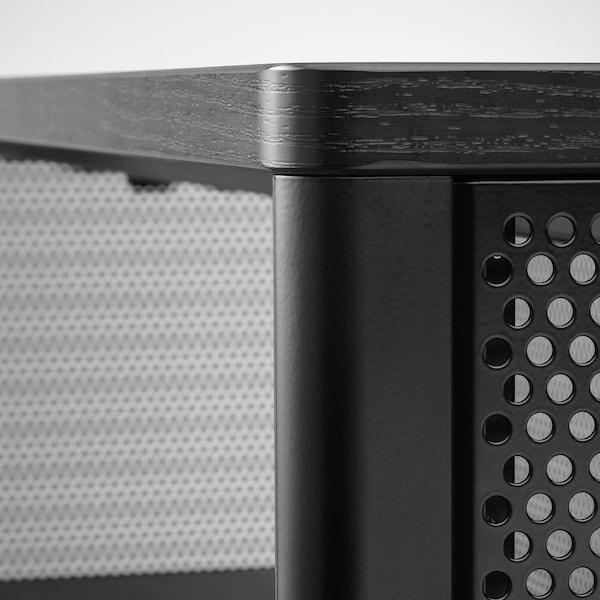 BEKANT Regał, czarny, 121x134 cm