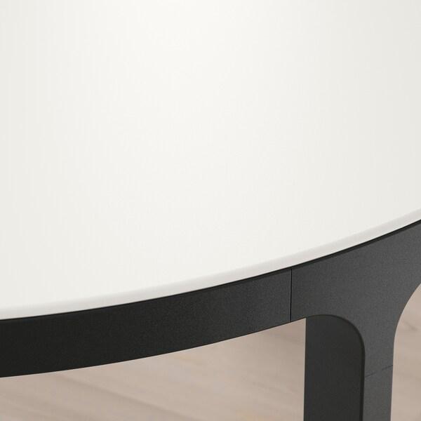 BEKANT Stół konferencyjny, biały/czarny, 280x140 cm