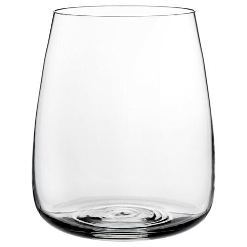 BERÄKNA Wazon szkło bezbarwne 18 cm