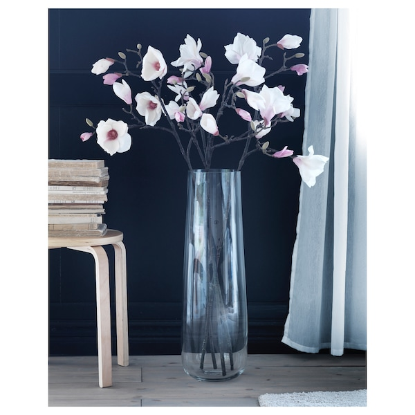 BERÄKNA Wazon, szkło bezbarwne, 65 cm