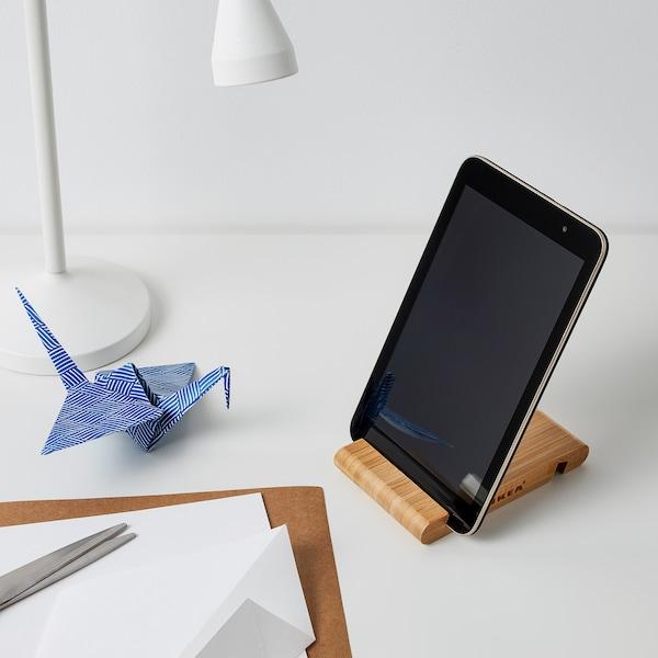 BERGENES Uchwyt na komórkę/tablet, bambus