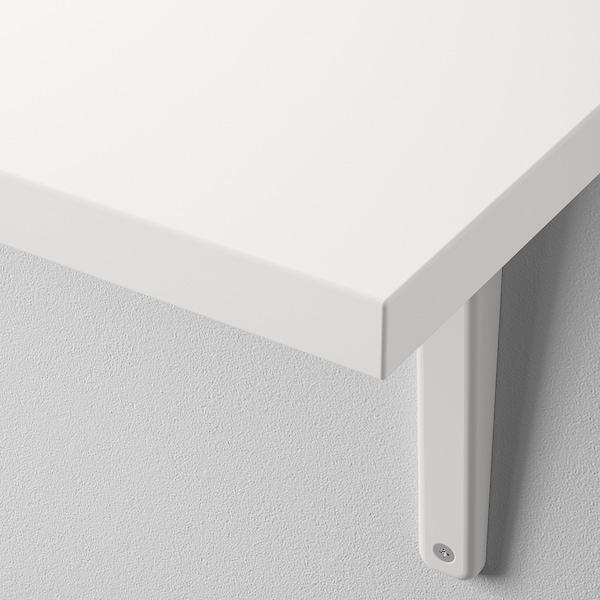 BERGSHULT / TOMTHULT Półka ze wspornikiem, biały, 120x30 cm