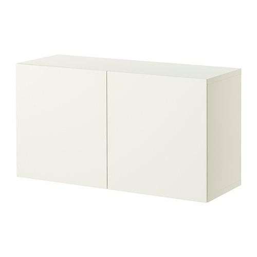 Super BESTÅ Szafka z drzwiczkami - Lappviken biały - IKEA WI67