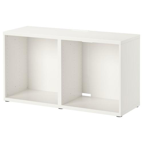 BESTÅ szafka pod TV biały 120 cm 40 cm 64 cm 50 kg