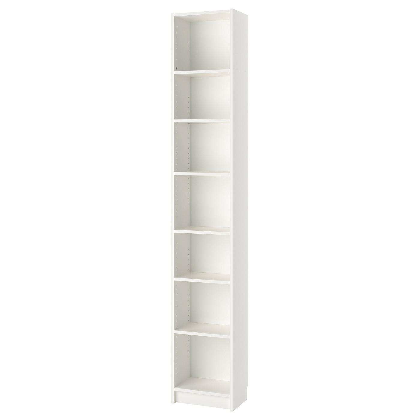 IKEA BILLY biały regał, 40x28x237 cm