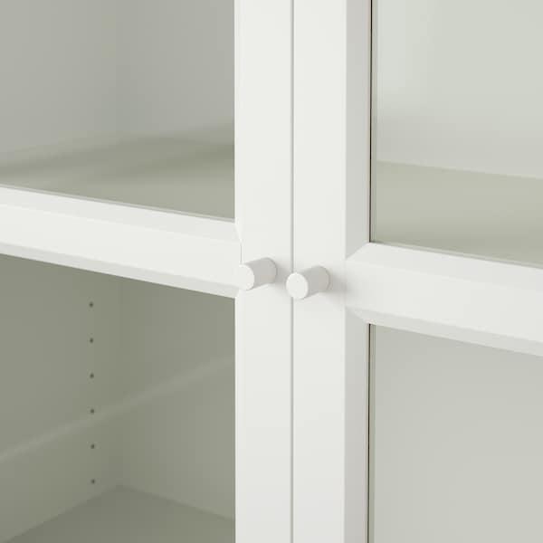 BILLY / OXBERG Regał, biały, 80x30x202 cm