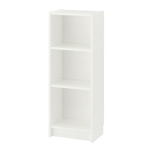 Tylko na zewnątrz BILLY Regał - biały - IKEA KE93
