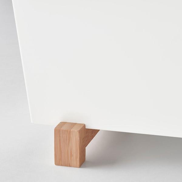 BITTERGURKA Osłonka doniczki, biały, 32x15 cm