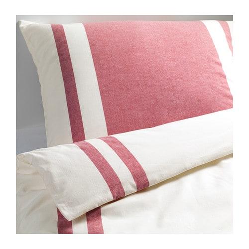 bj rnloka komplet po cieli bia y czerwony 200x200 50x60. Black Bedroom Furniture Sets. Home Design Ideas