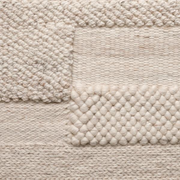 BRÖNDEN Dywan z krótkim włosiem, wykonano ręcznie beżowy, 170x240 cm