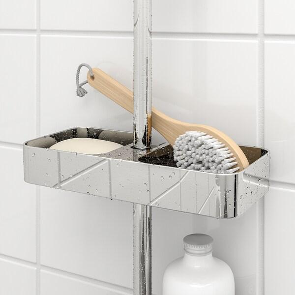 BROGRUND półka prysznicowa chrom 25 cm 11 cm 4 cm