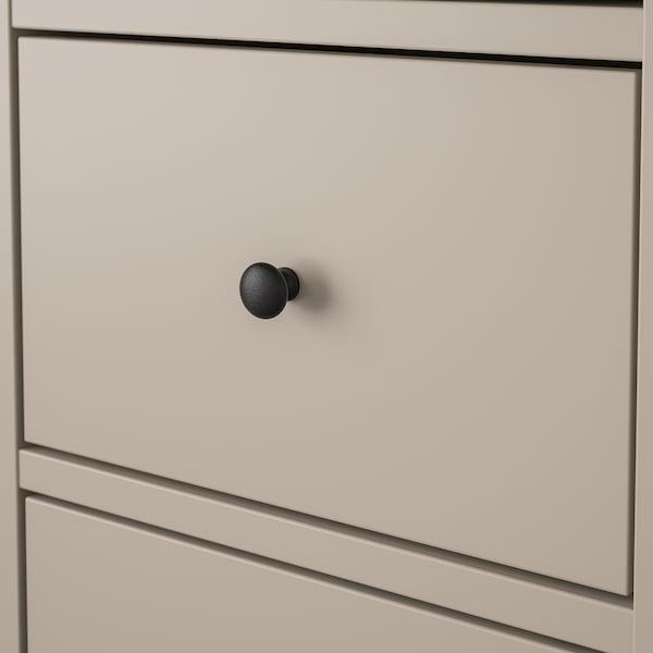 BRYGGJA Komoda, 9 szuflad, beżowy, 118x92 cm