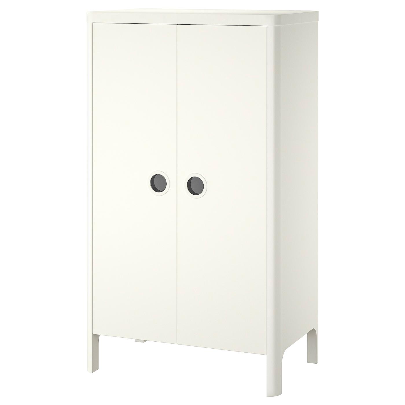 IKEA BUSUNGE biała szafa dla dziecka, 80x139 cm