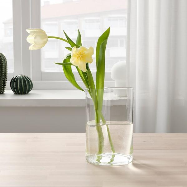 CHILIFRUKT Wazon/konewka, szkło bezbarwne, 21 cm