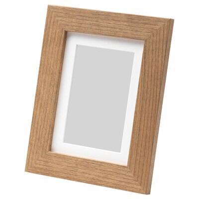 DALSKÄRR Ramka, imitacja drewna/jasnobrązowy, 13x18 cm