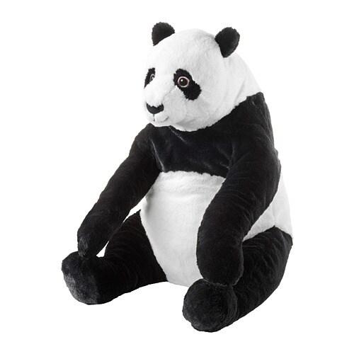 DJUNGELSKOG Мягкая игрушка, панда-4