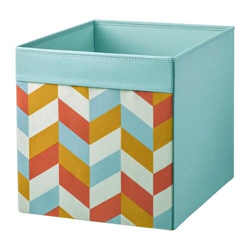 DRÖNA kaste, krāsaina, 33x38x33 cm